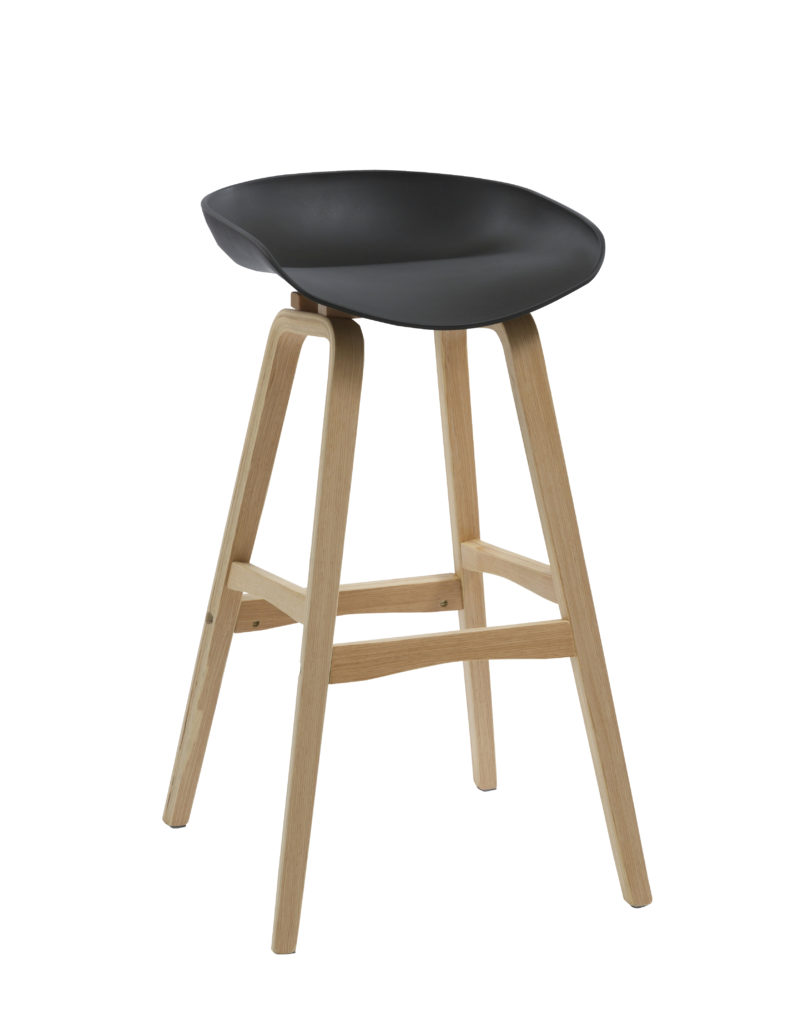 Eclipse Barstool - Black