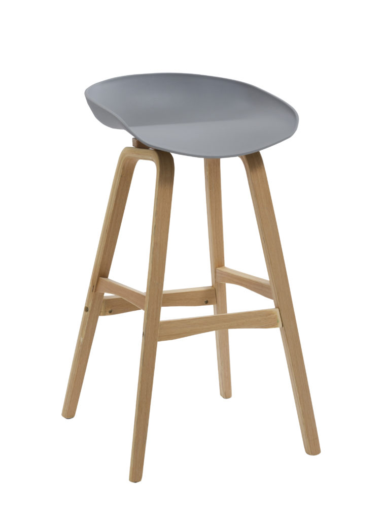 Eclipse Barstool - Grey