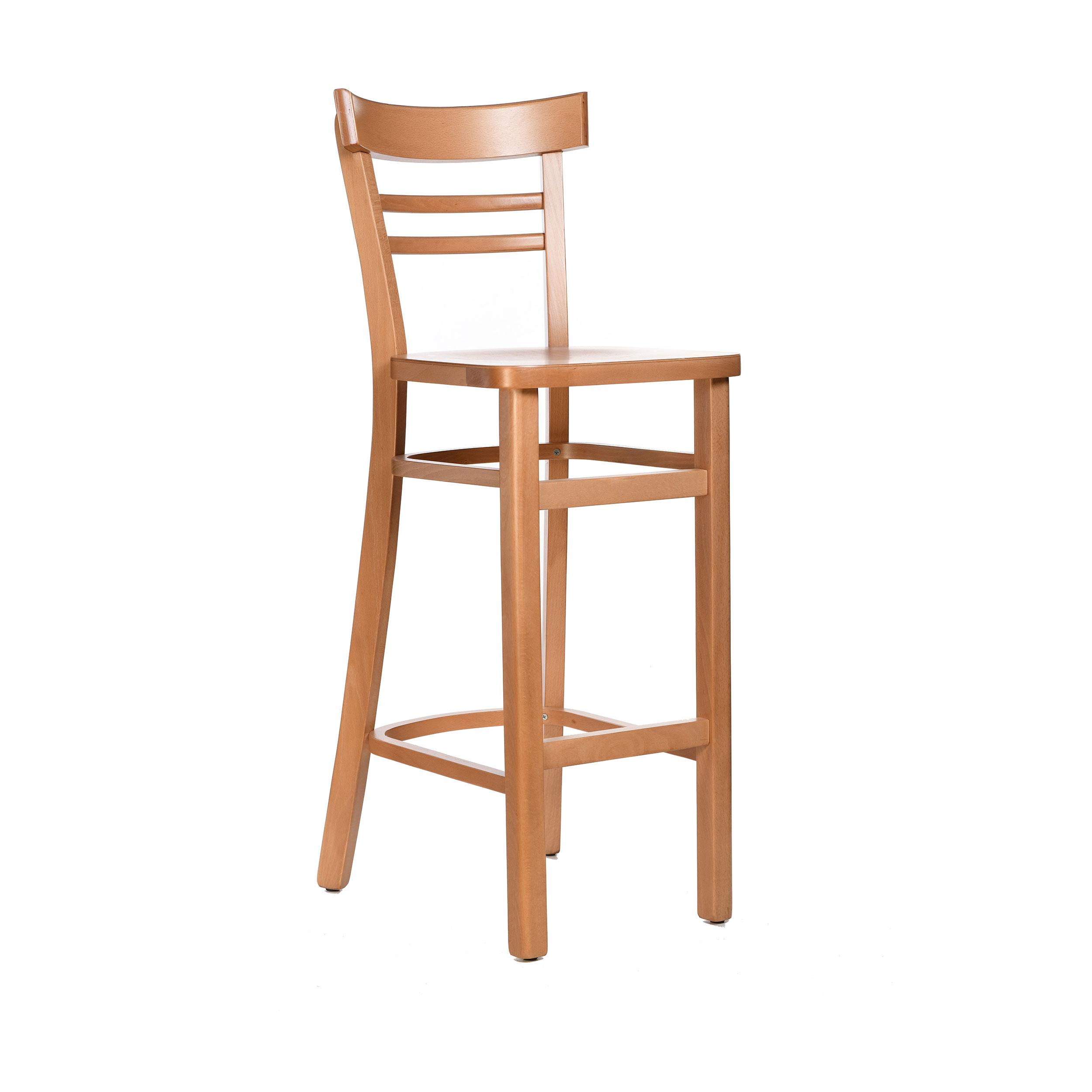 Vienna Barstool Timber Seat