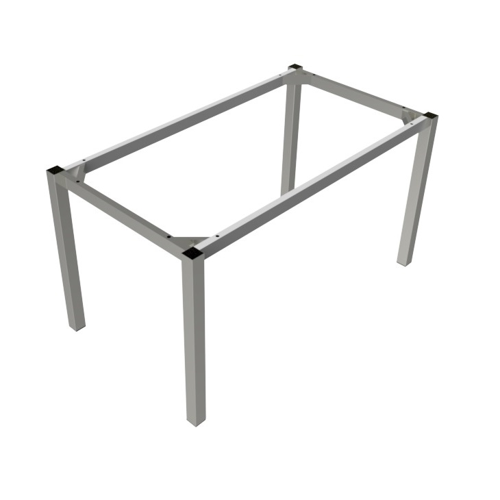 Preston Aluminium Table Frame - Silver