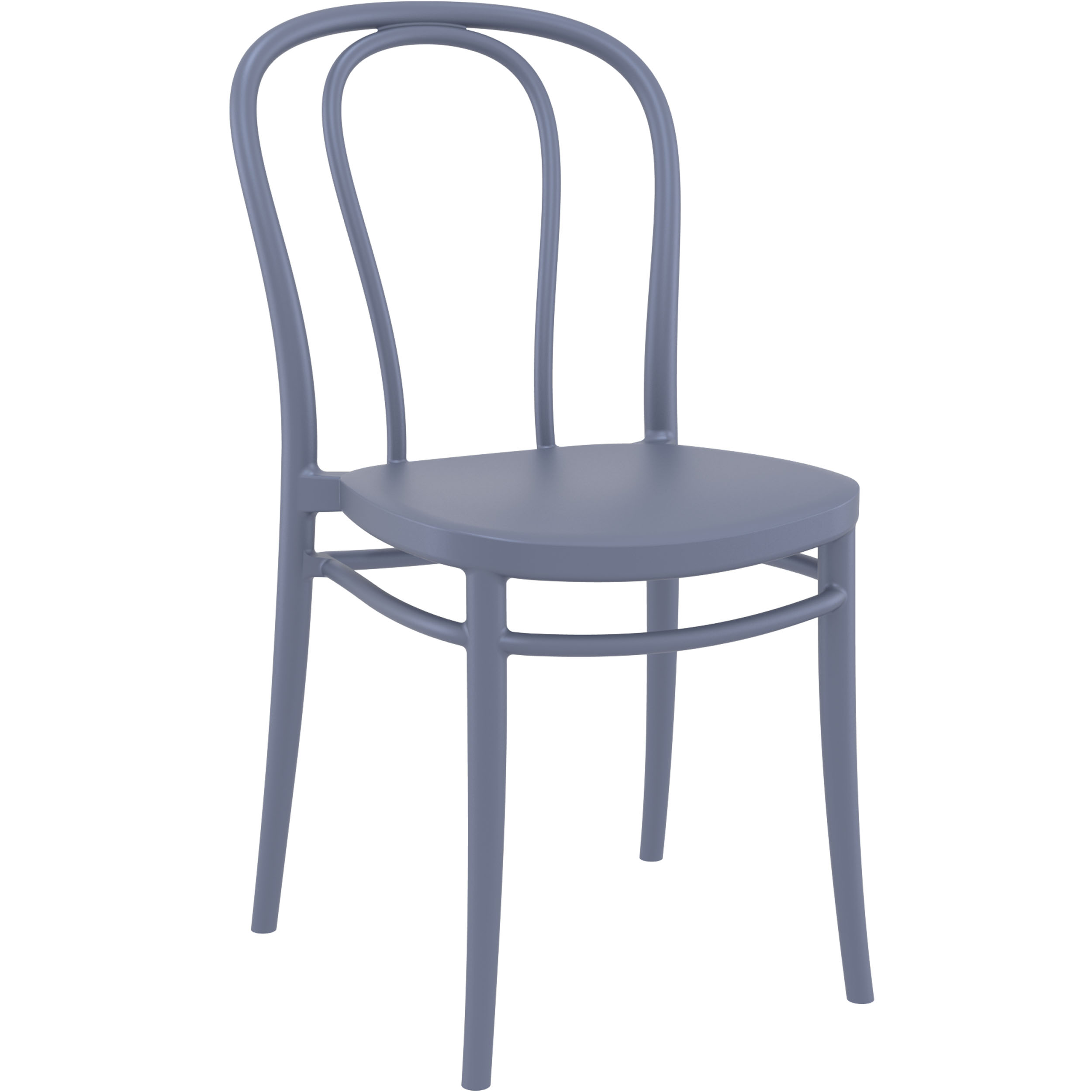 Victor Chair - Dark Grey