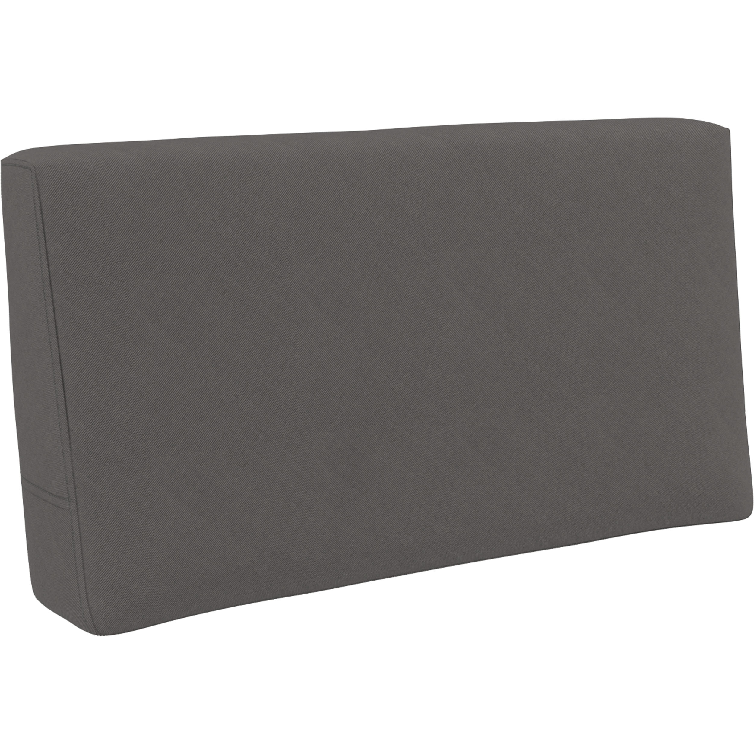 Mykonos Back Rest Cushion - Dark Grey