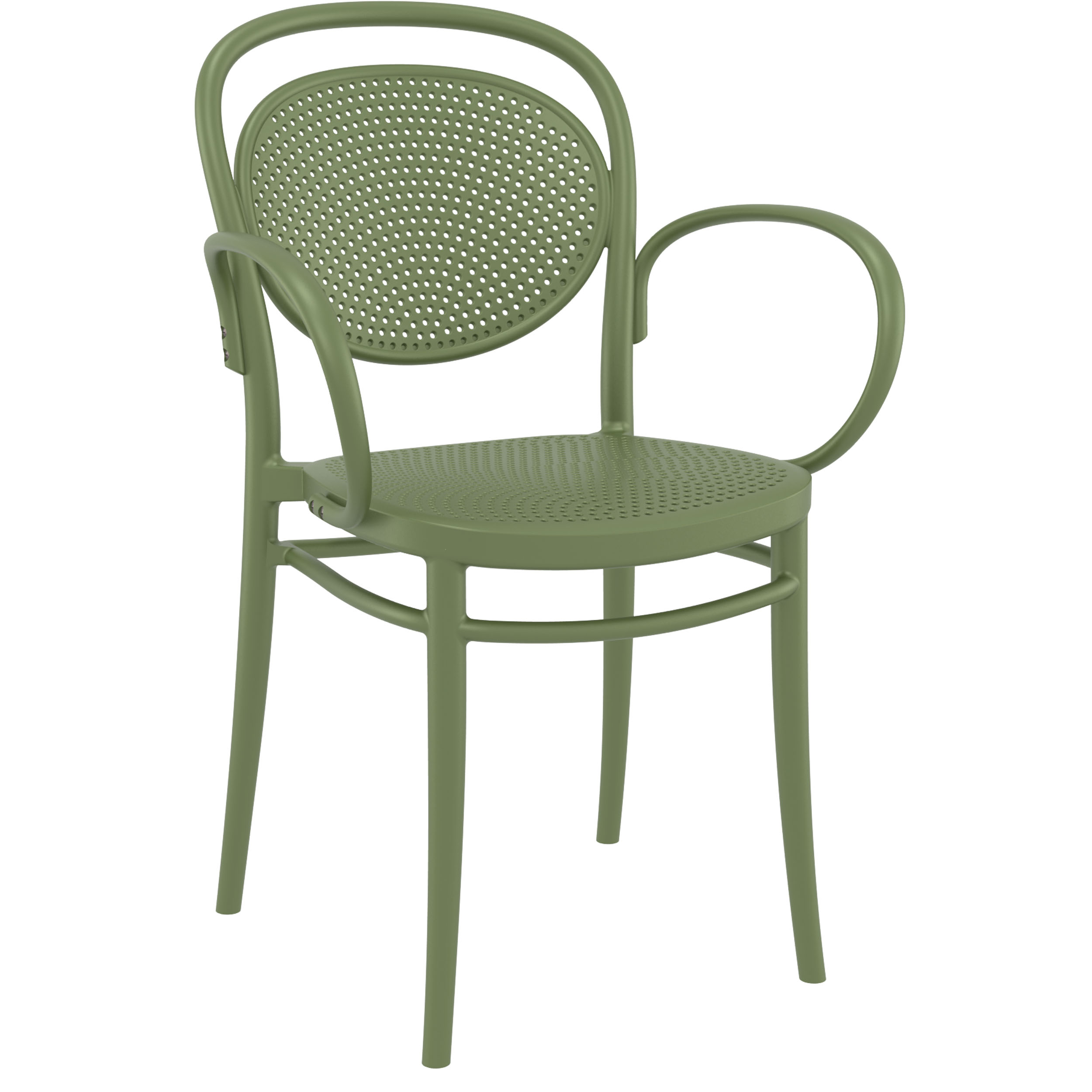Marcel XL Chair - Olive Green