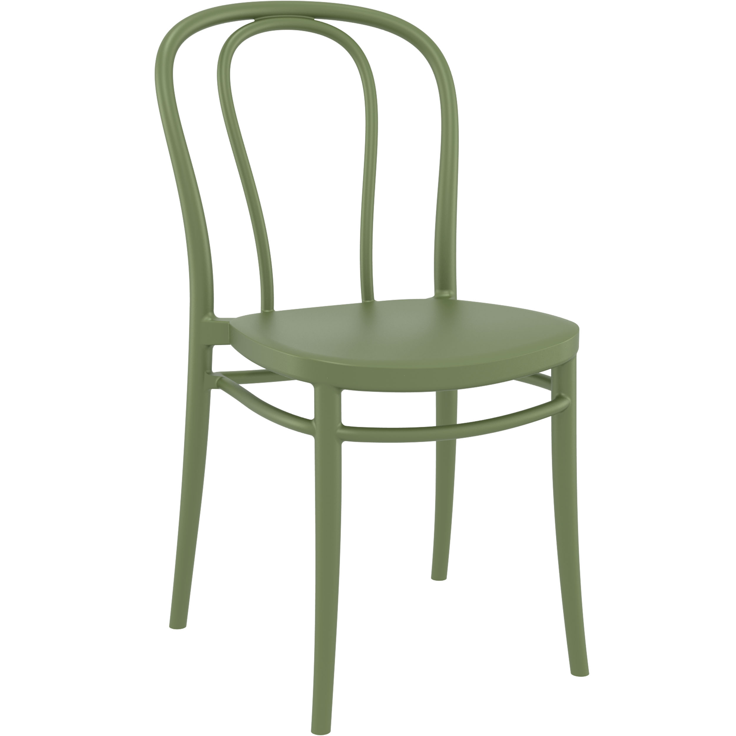 Victor Chair - Olive Green