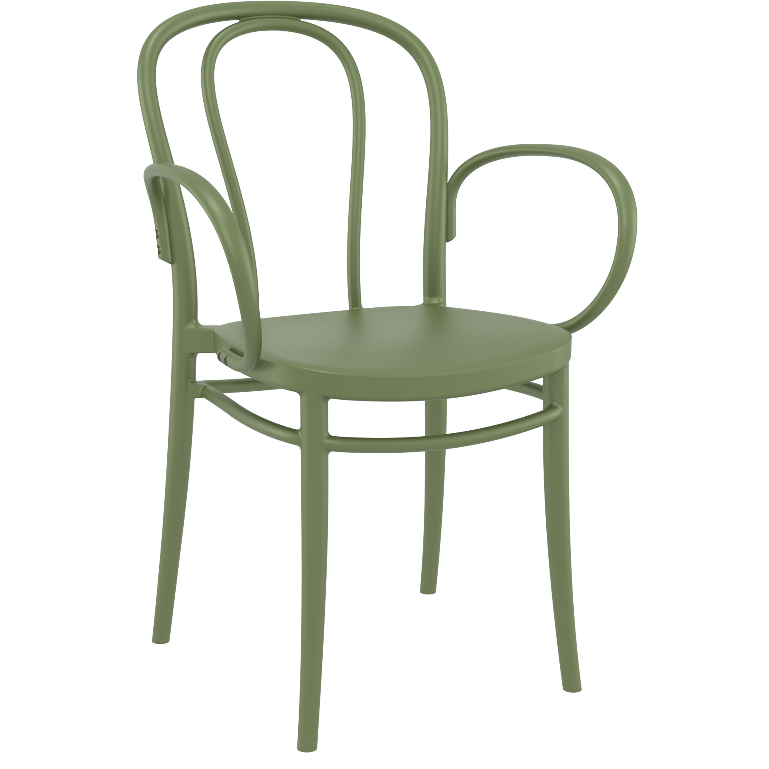 Victor XL Chair - Olive Green