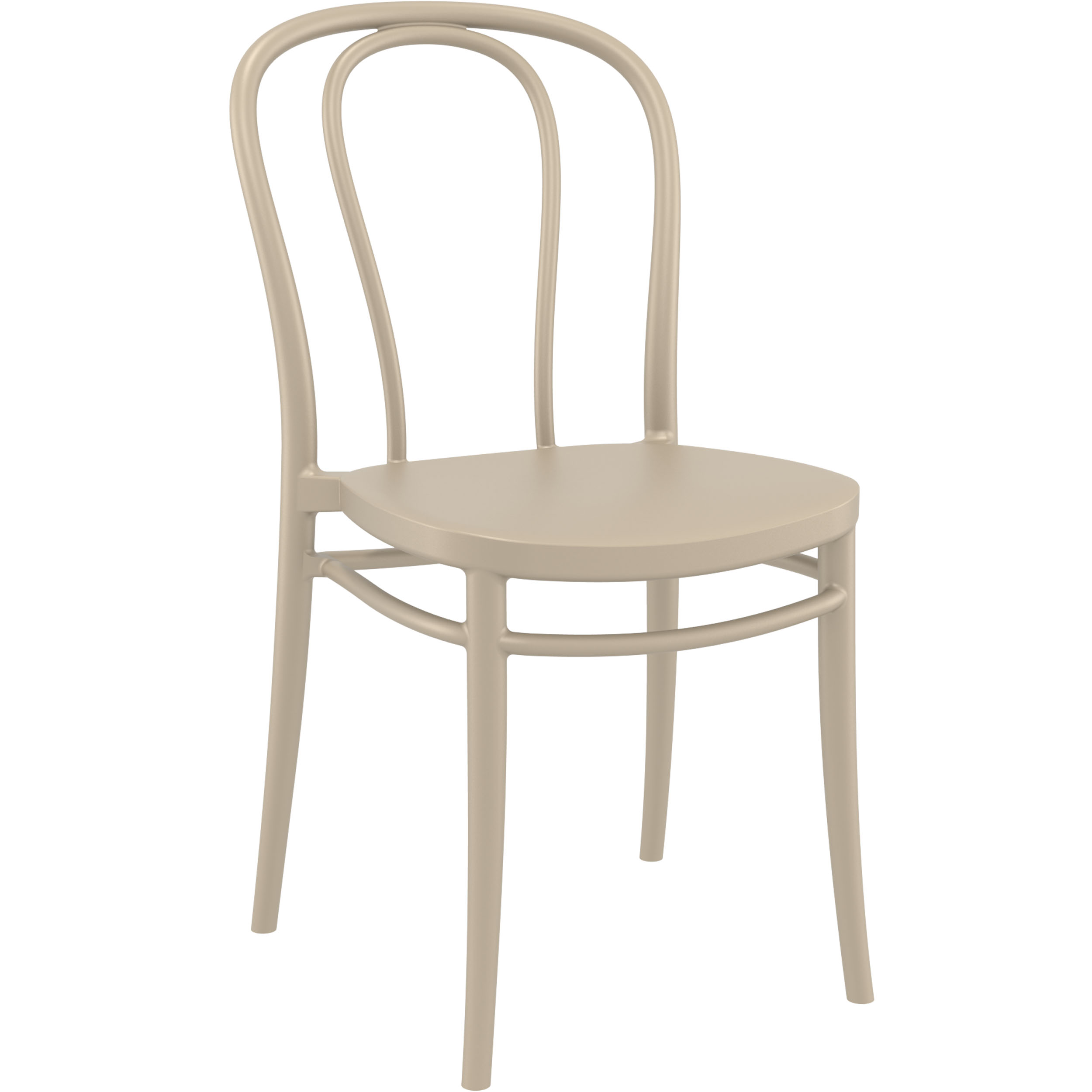 Victor Chair - Taupe