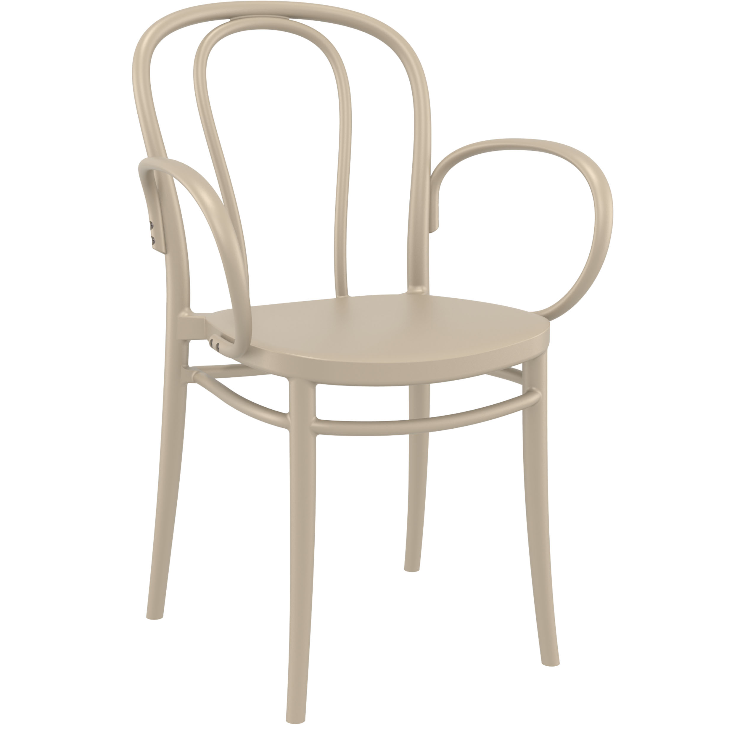 Victor XL Chair - Taupe