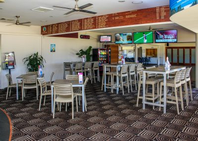 "Club Byron aka ""The Bowlo"" – Byron Bay, NSW- Ares Chair & Carlton Frame View 3"