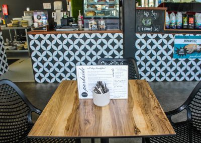 Parkside Cafe - Armidale NSW - Air Chairs & Table Tops