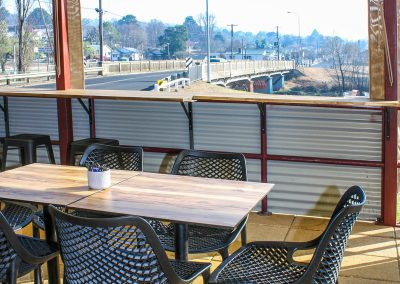 Parkside Cafe - Armidale NSW - Harbour Stool, Air Chairs & Table Tops