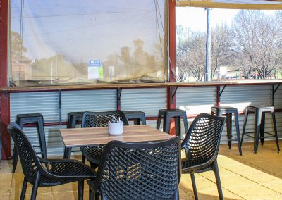 Parkside Cafe - Armidale NSW - Harbour Stool, Air Chairs