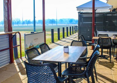 Parkside Cafe - Armidale NSW - Air Chairs, Table Tops & Twin Table Bases