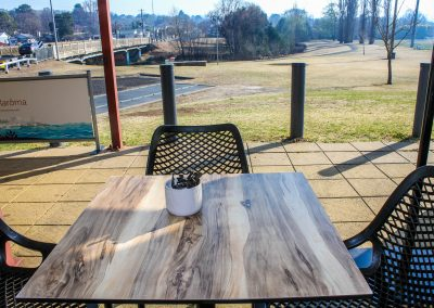 Parkside Cafe - Armidale NSW - Air Chairs & Table Top