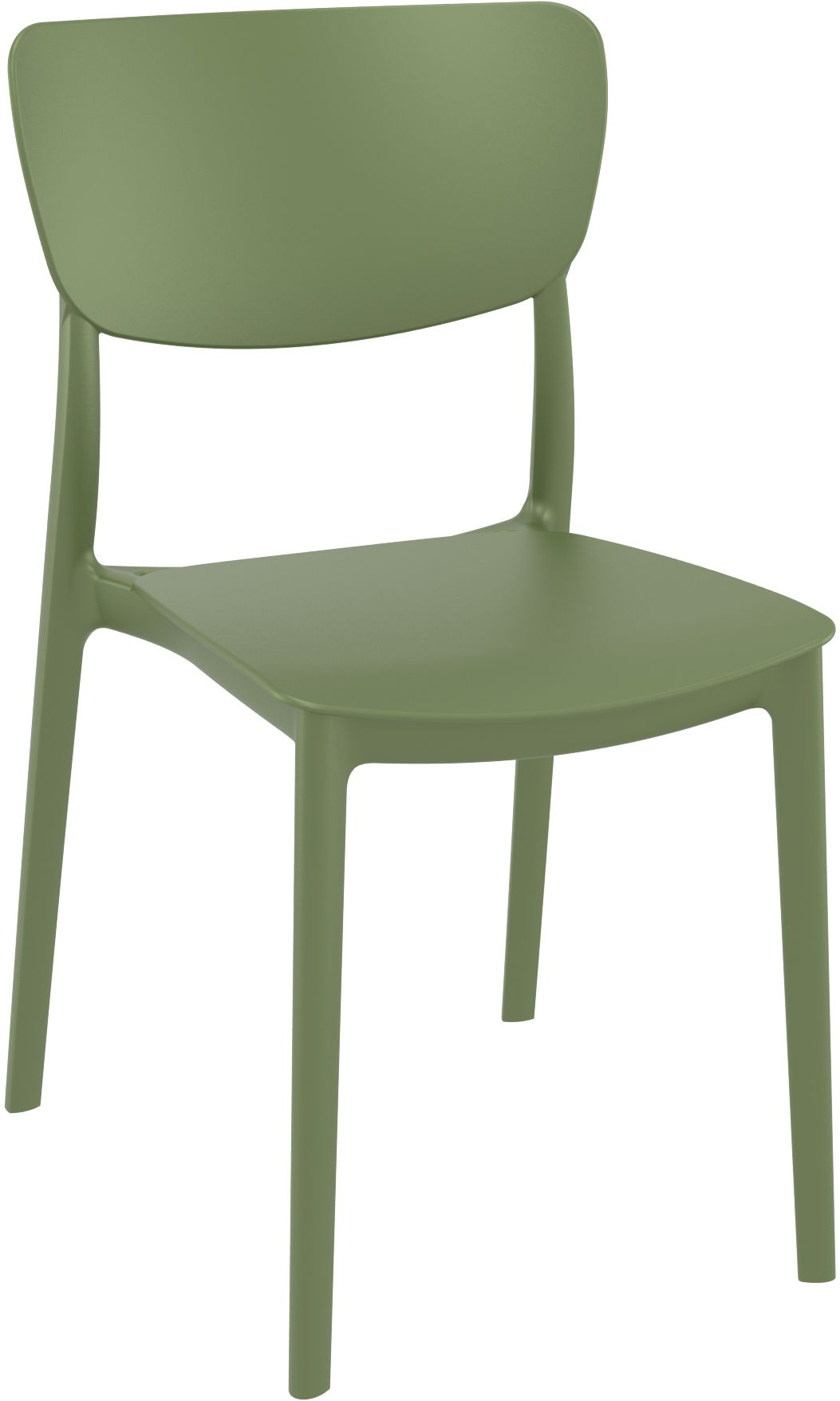 Monna Chair - Olive Green