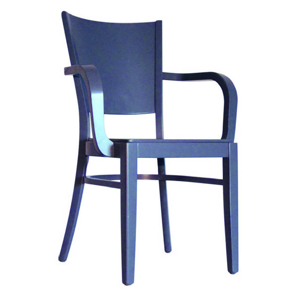 Atlantic Solid Seat Arm Chair