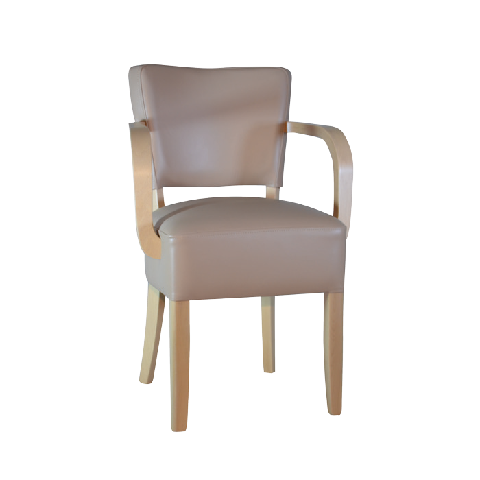 Memphis Plywood Round Arm Chair