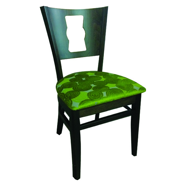 Memphis Stacking Key Hole Back Chair