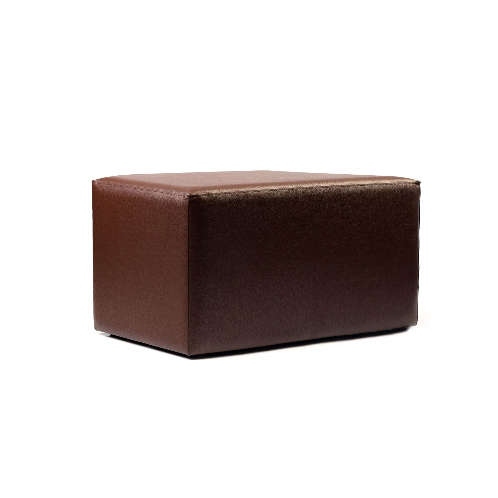 Ottoman Rectangle - Chocolate - Made In Europe