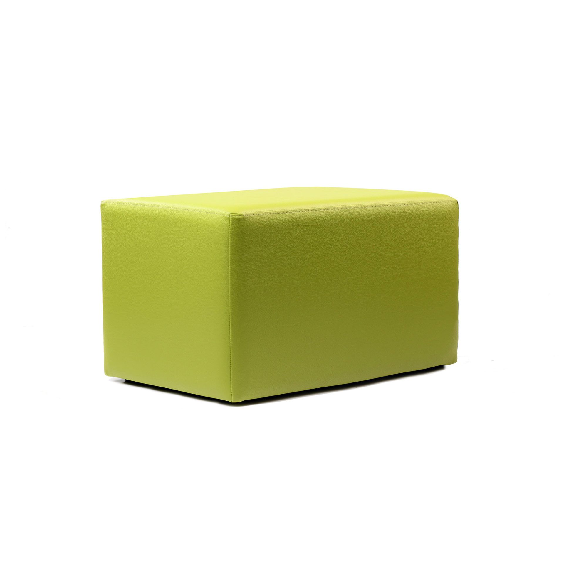 Ottoman Rectangle - Green - Made In Europe