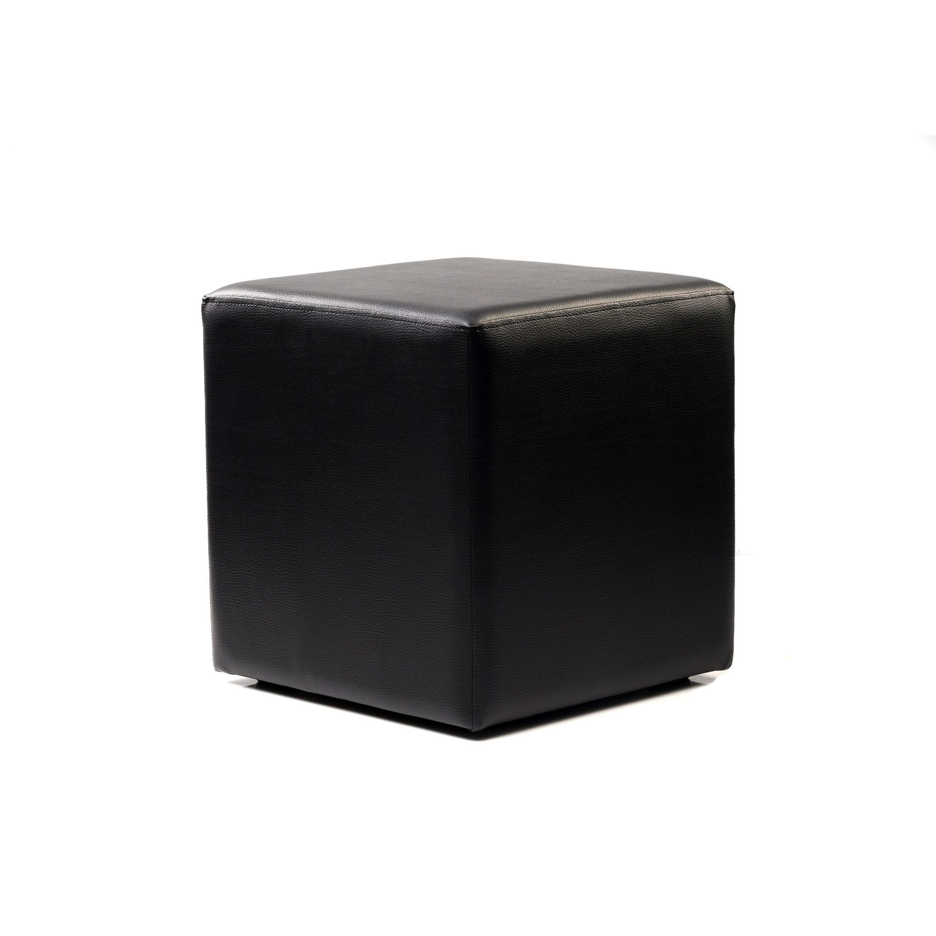 Ottoman Cube - Black - Made In Europe