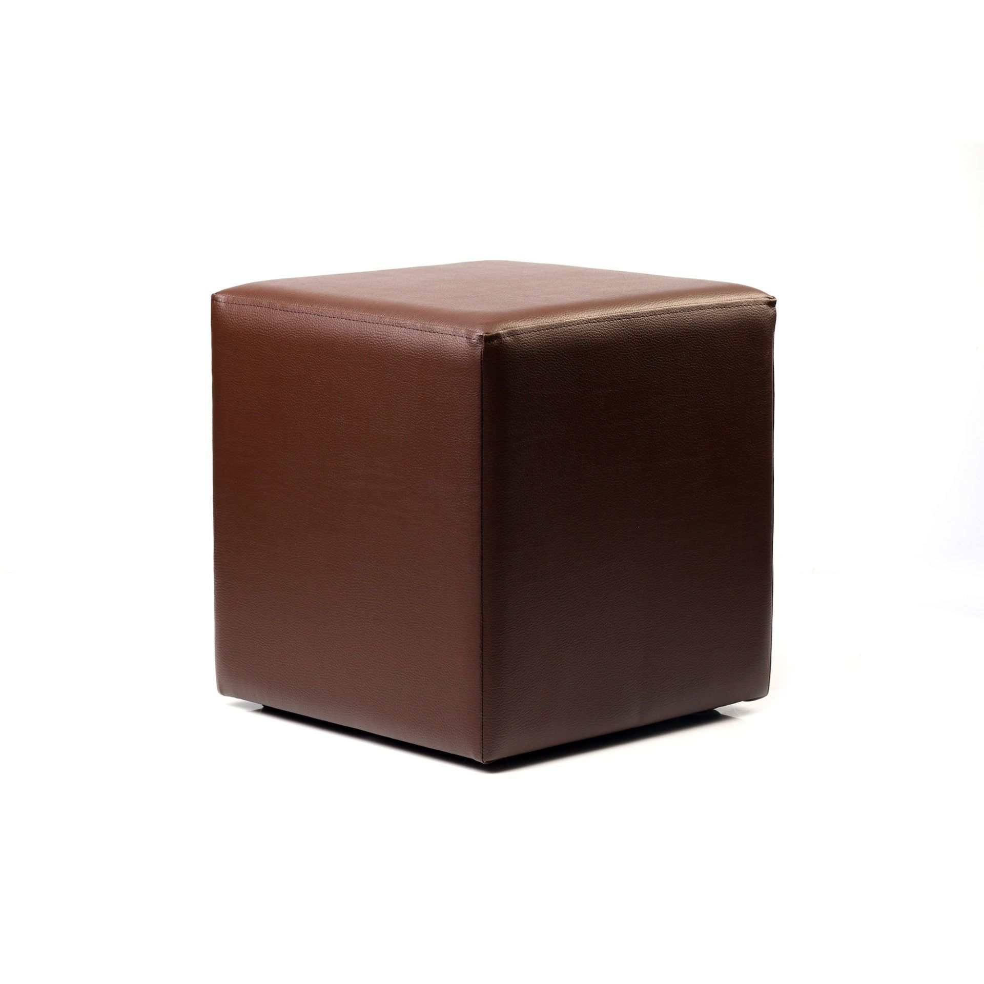 Ottoman Cube - Chocolate - Made In Europe