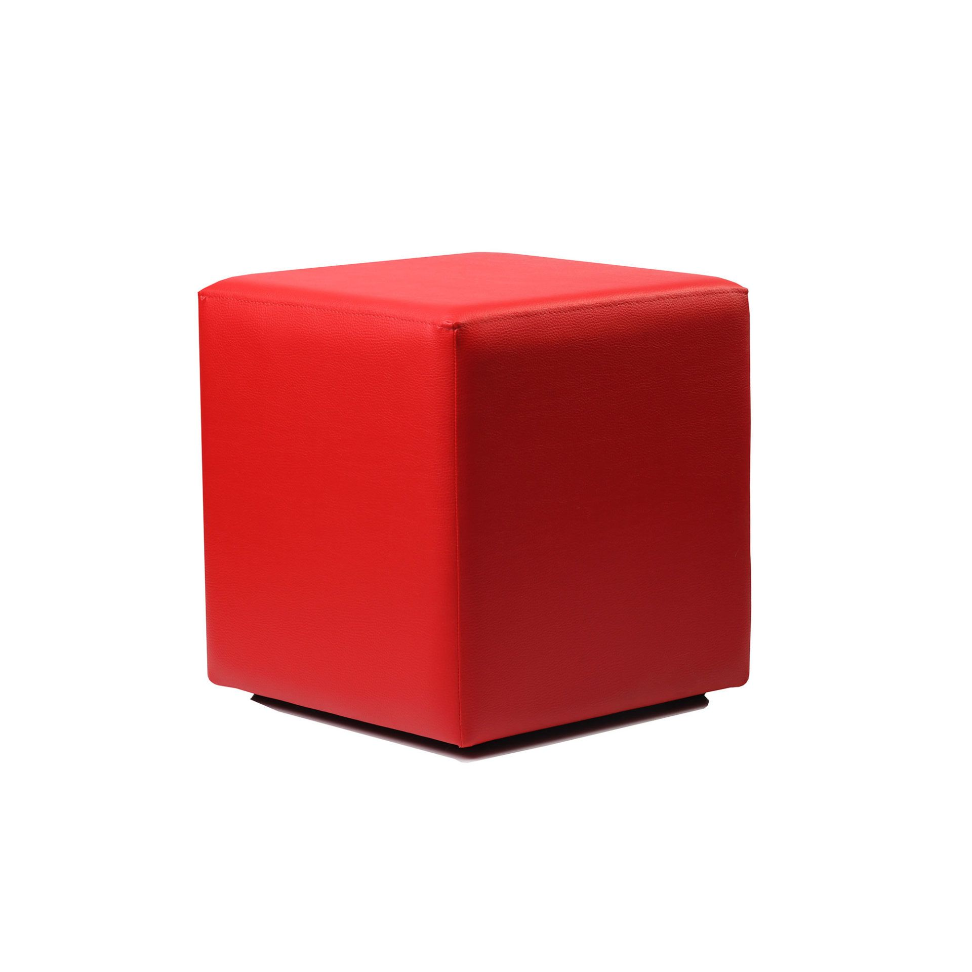 Ottoman Cube - Red - Made In Europe