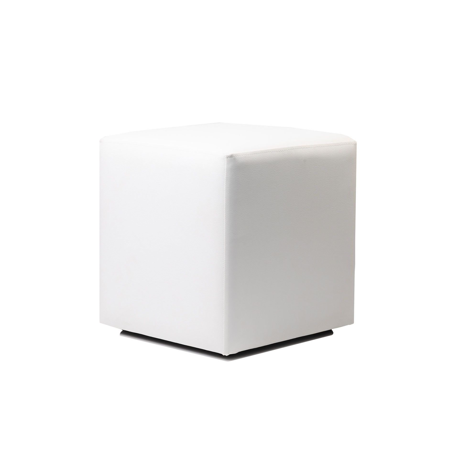 Ottoman Cube - White - Made In Europe