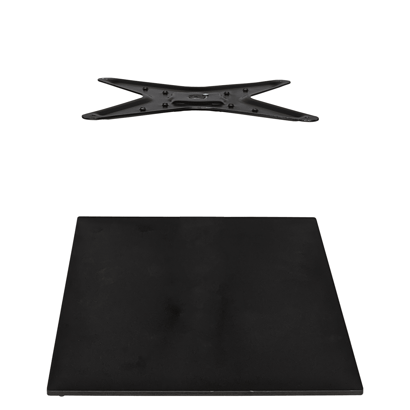PART StarTop/Calais 460 Square Base - 4000 - Black
