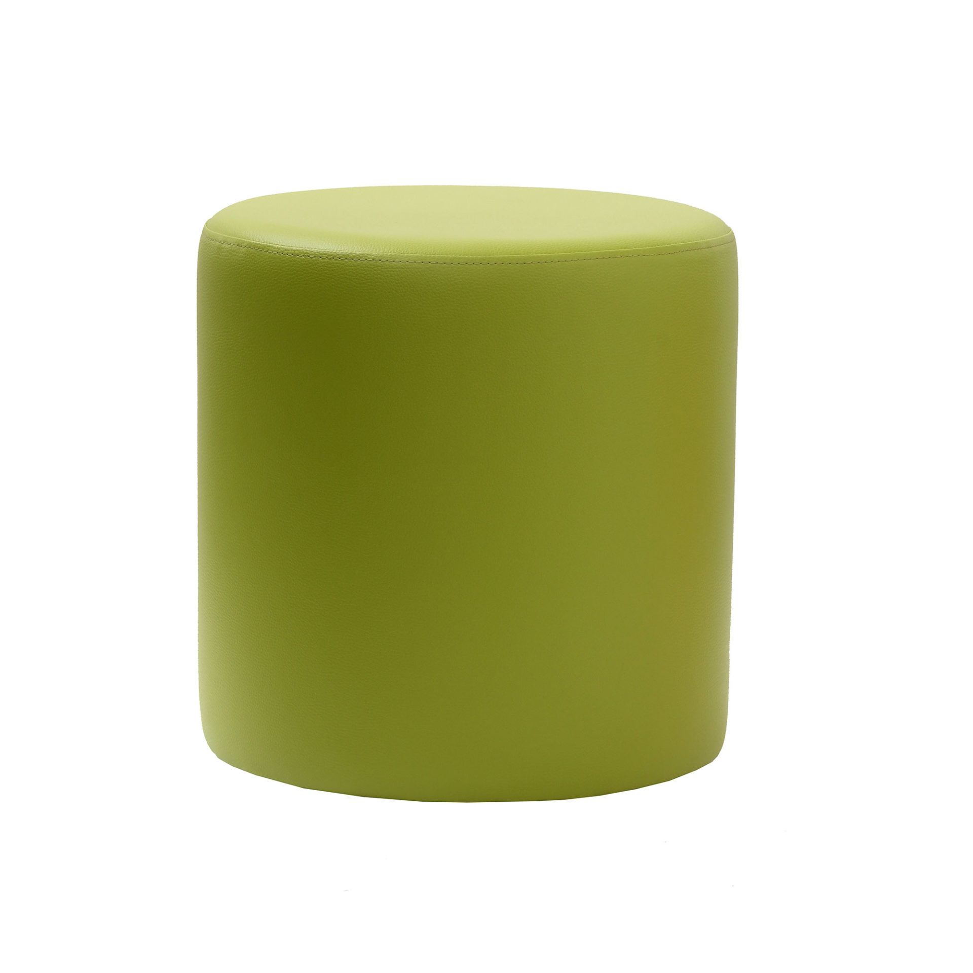 Ottoman Round - Green - Made In Europe