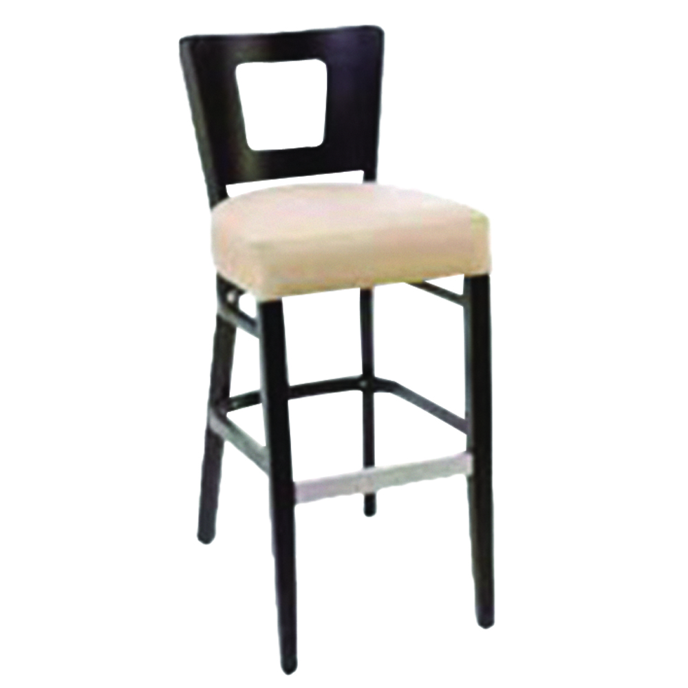 Atlantic Slim Seat Square Hole Barstool
