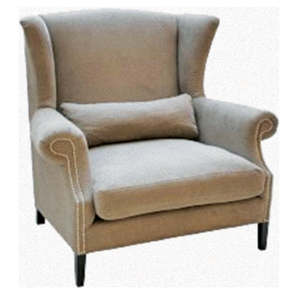 Campbell Gray Lounge Chair