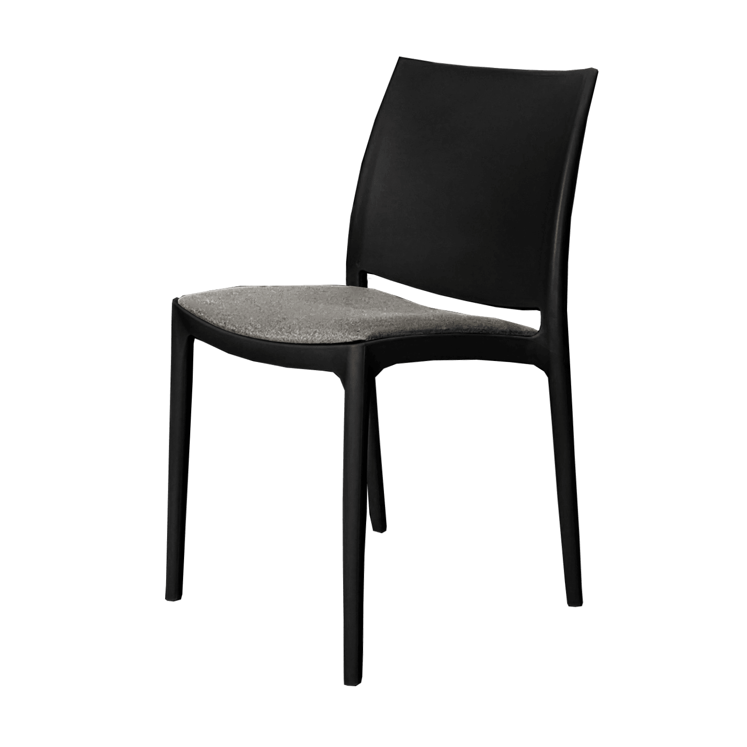 Seat Cushion - Anthracite Fabric (Maya Chair)