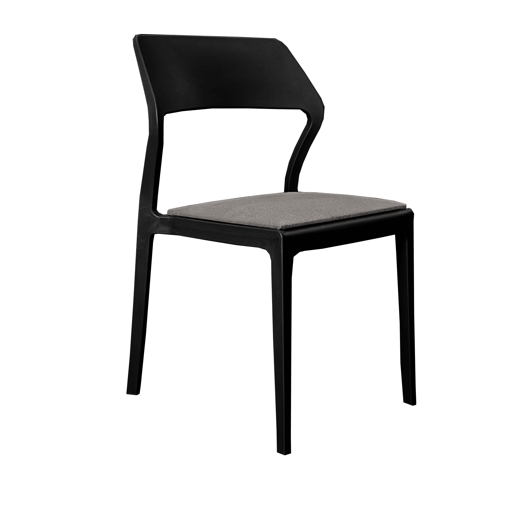 Seat Cushion - Anthracite Fabric (Snow/Plus Chair)
