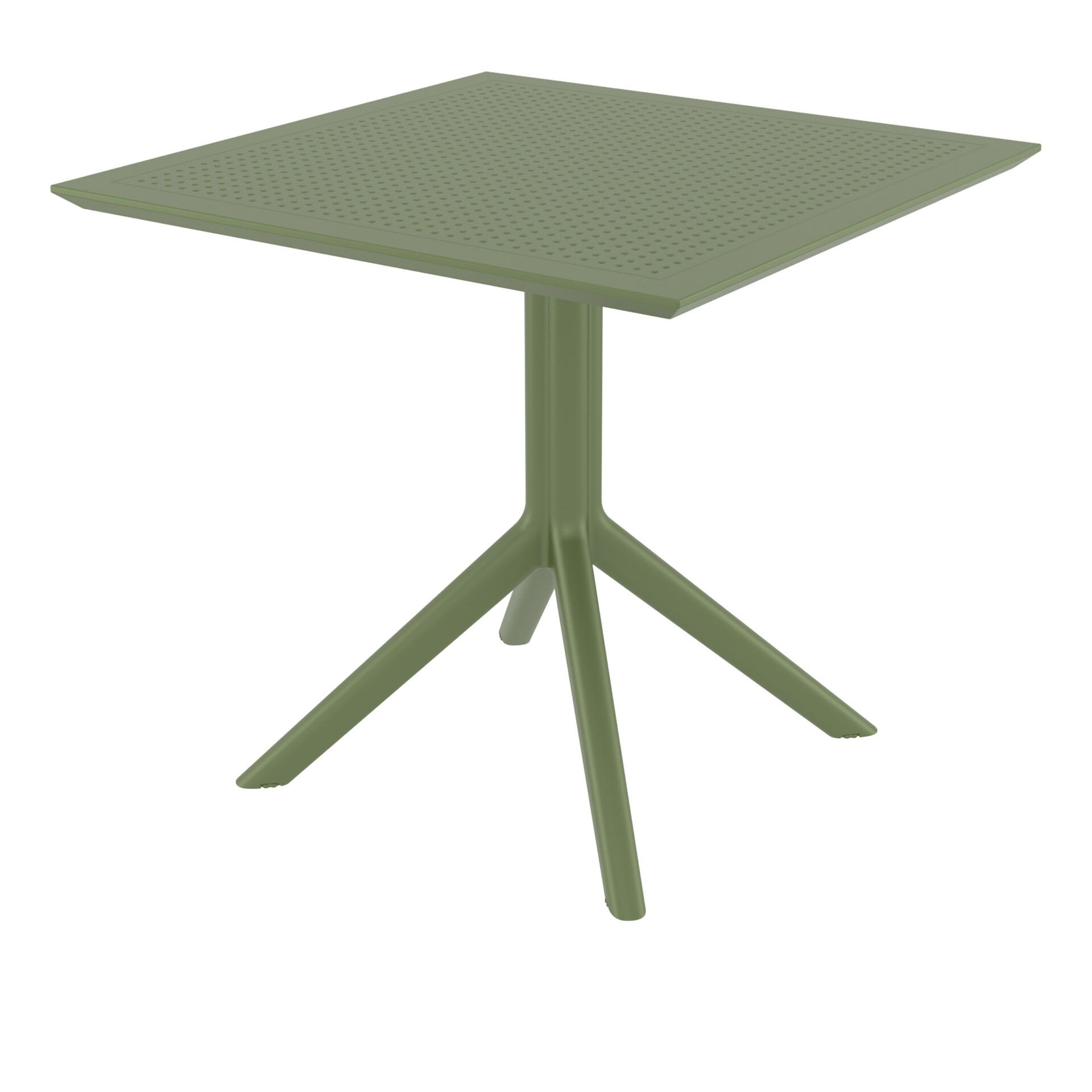 Sky Table 80 - Olive Green