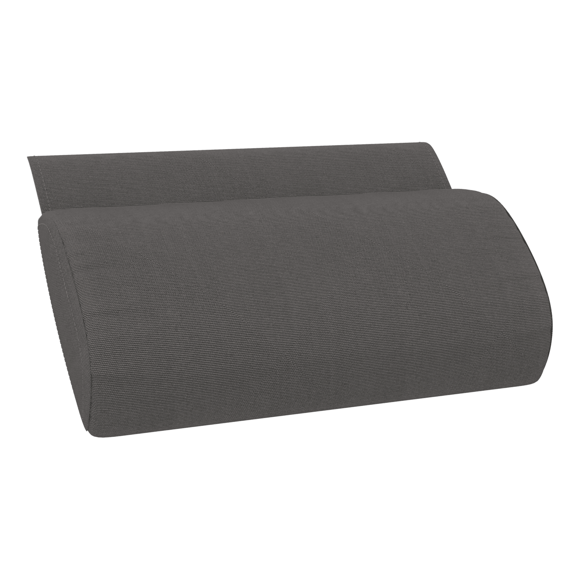Cushion Pillow Anthracite - (Slim Sunlounger)