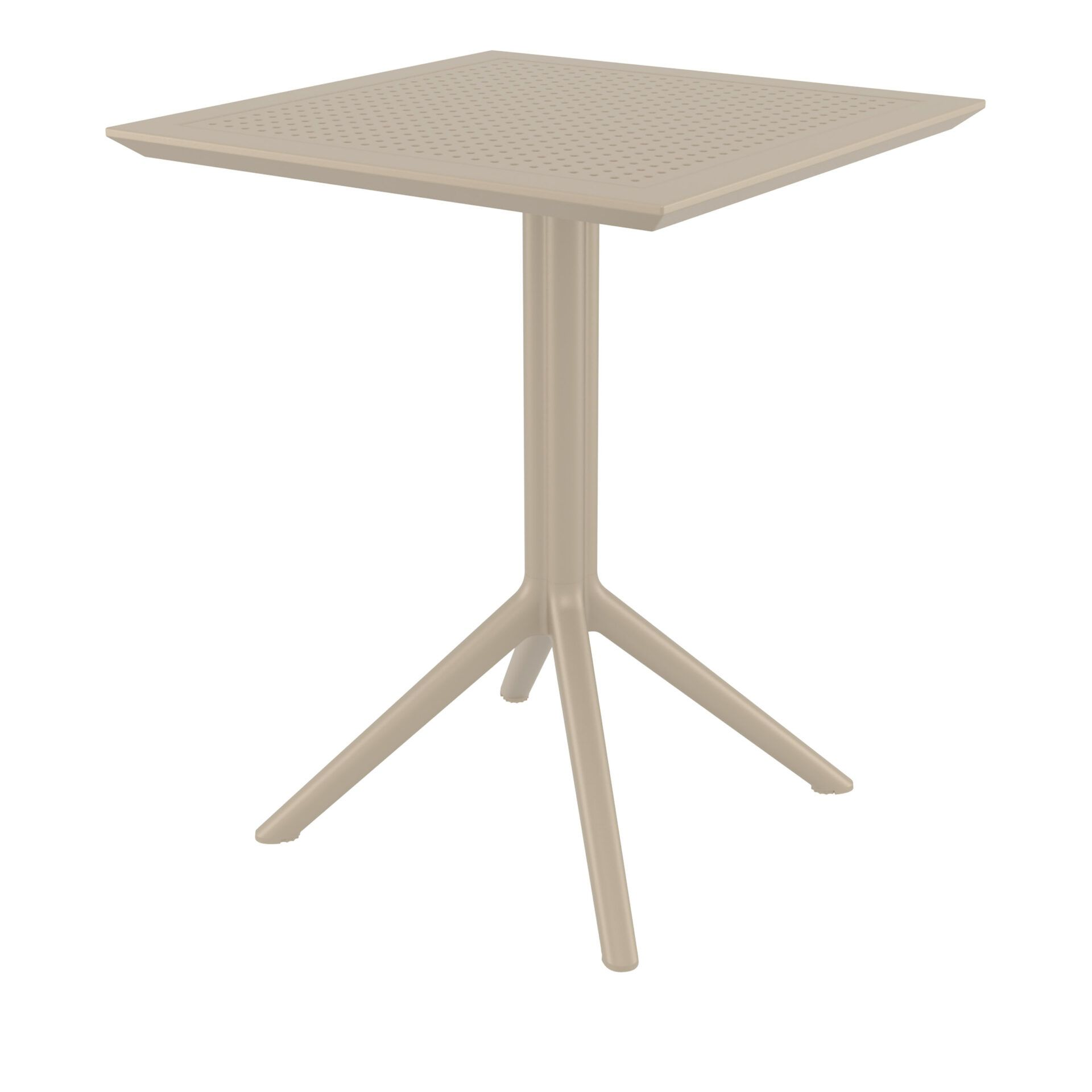 Sky Folding Table 60 - Taupe
