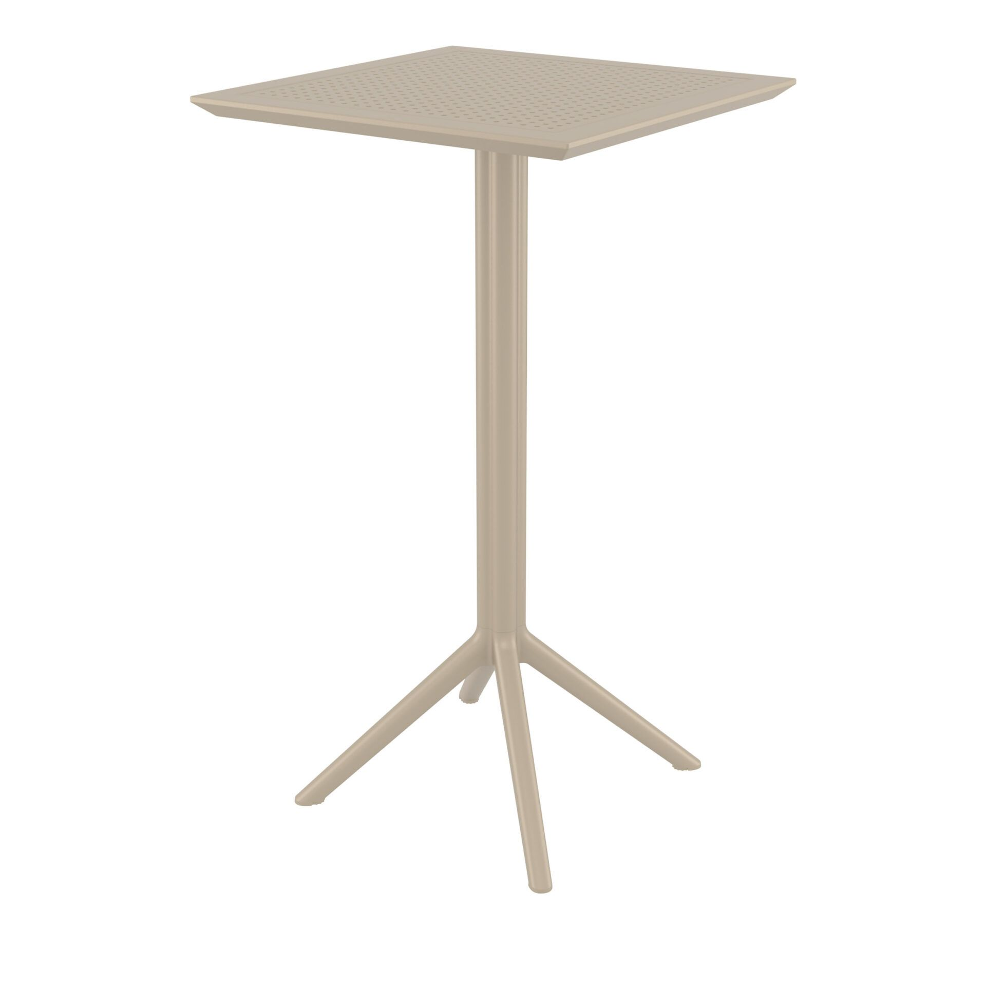 Sky Folding BAR Table 60 - Taupe
