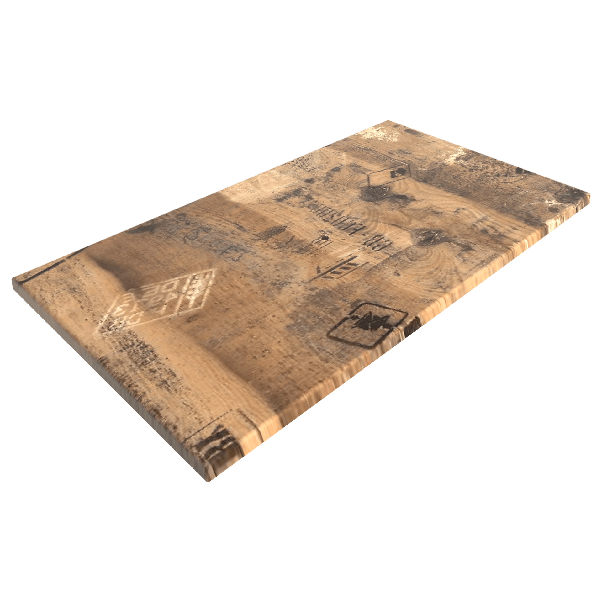 Werzalit Ex Works 1200x800mm Rectangle Duratop by SM France