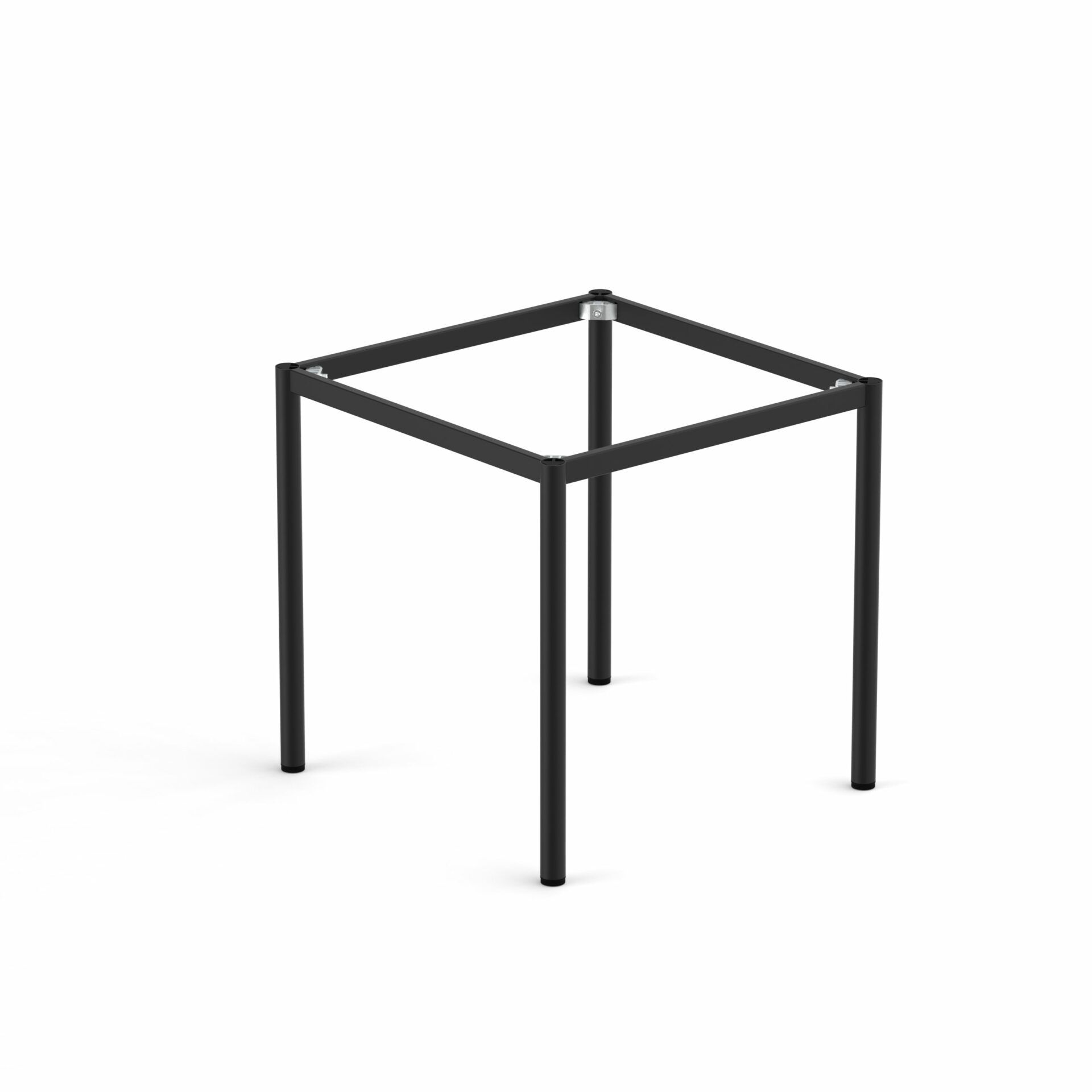 Spire Round leg Table Height Frame 990 x 690 x 720H
