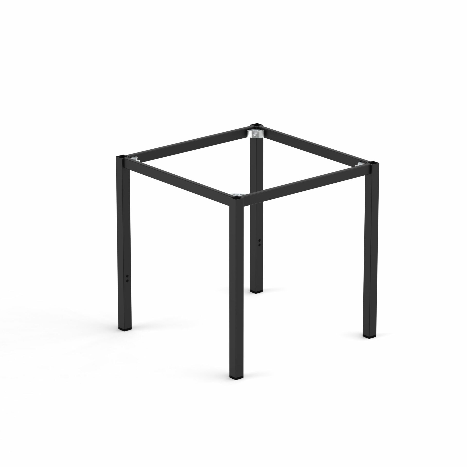 Spire Square leg Table Height Frame 740 x 740 x 720H